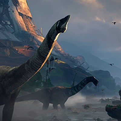 Joe garth robinson the journey screenshot laika found dino