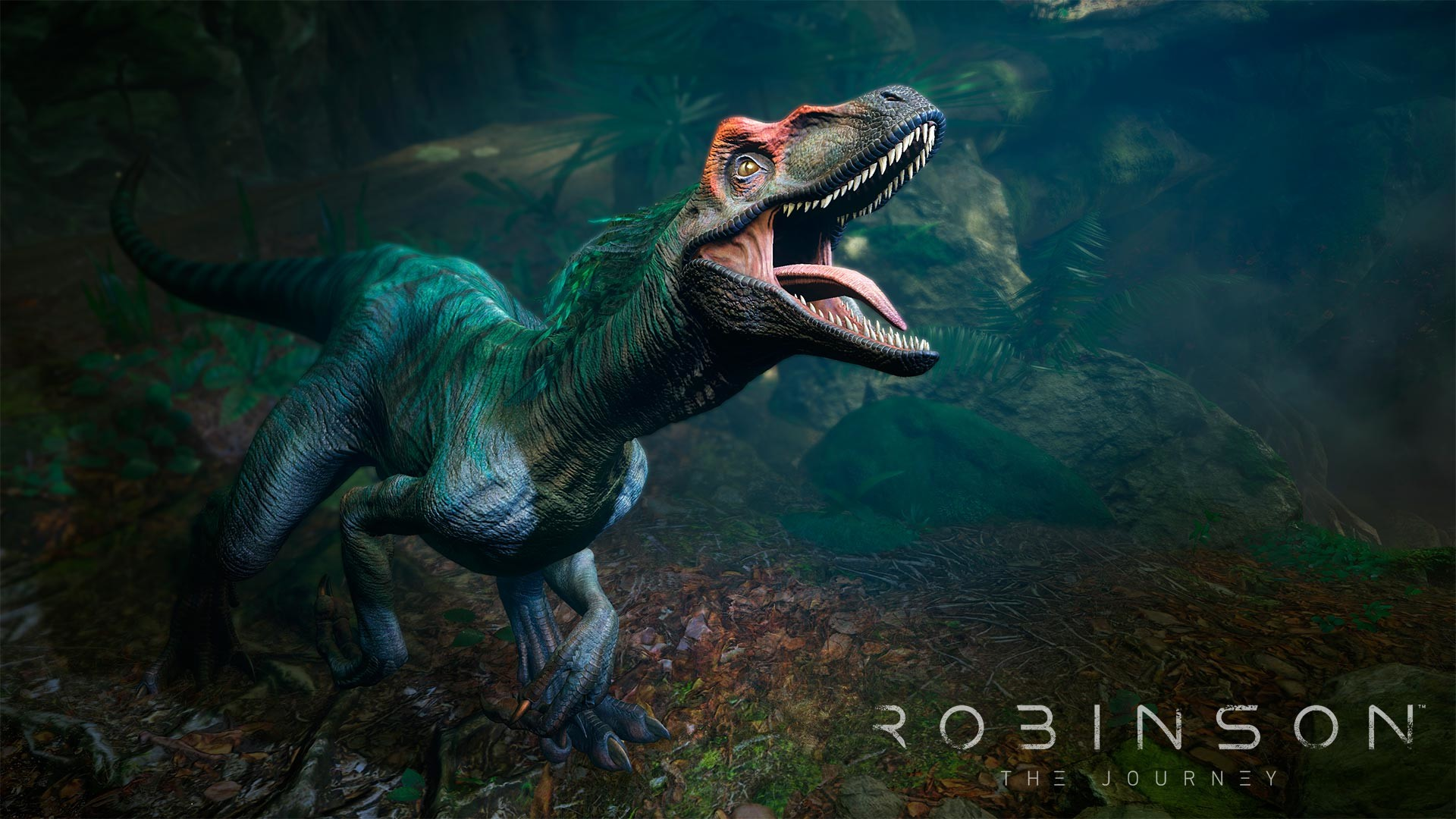 Joe garth robinson the journey screenshot raptor close up