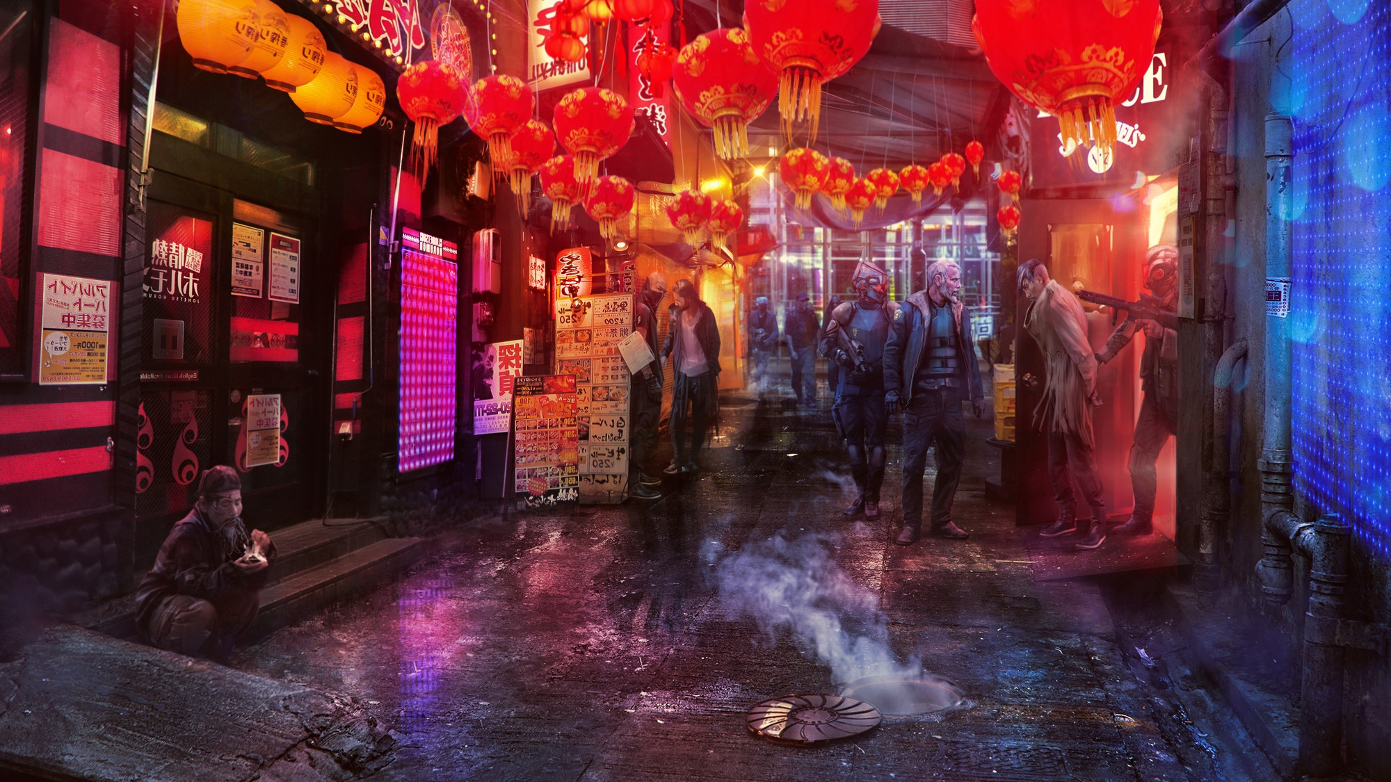 2D Shanghai 2020: Old Town