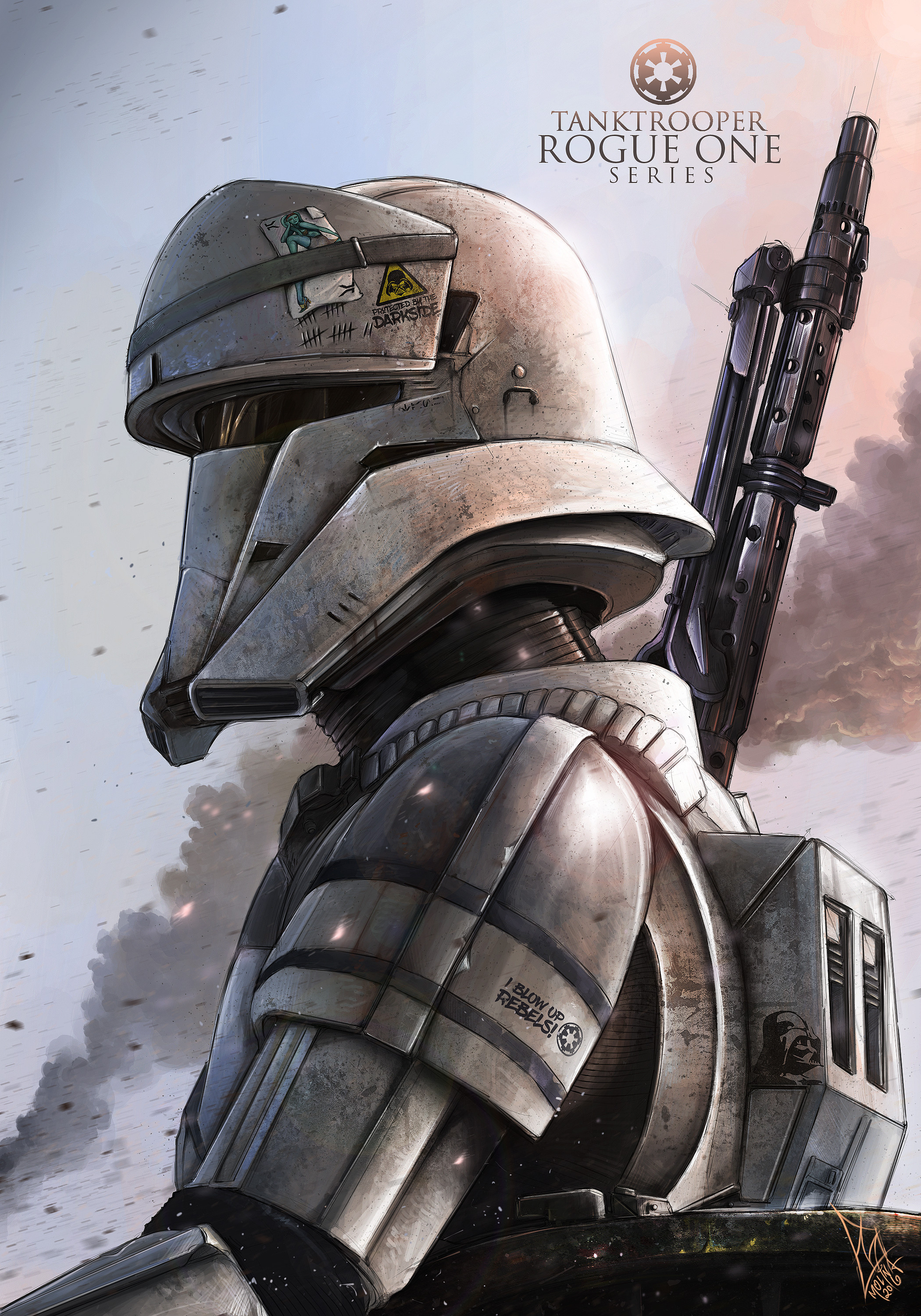 The Tank Trooper - Rogue One Series