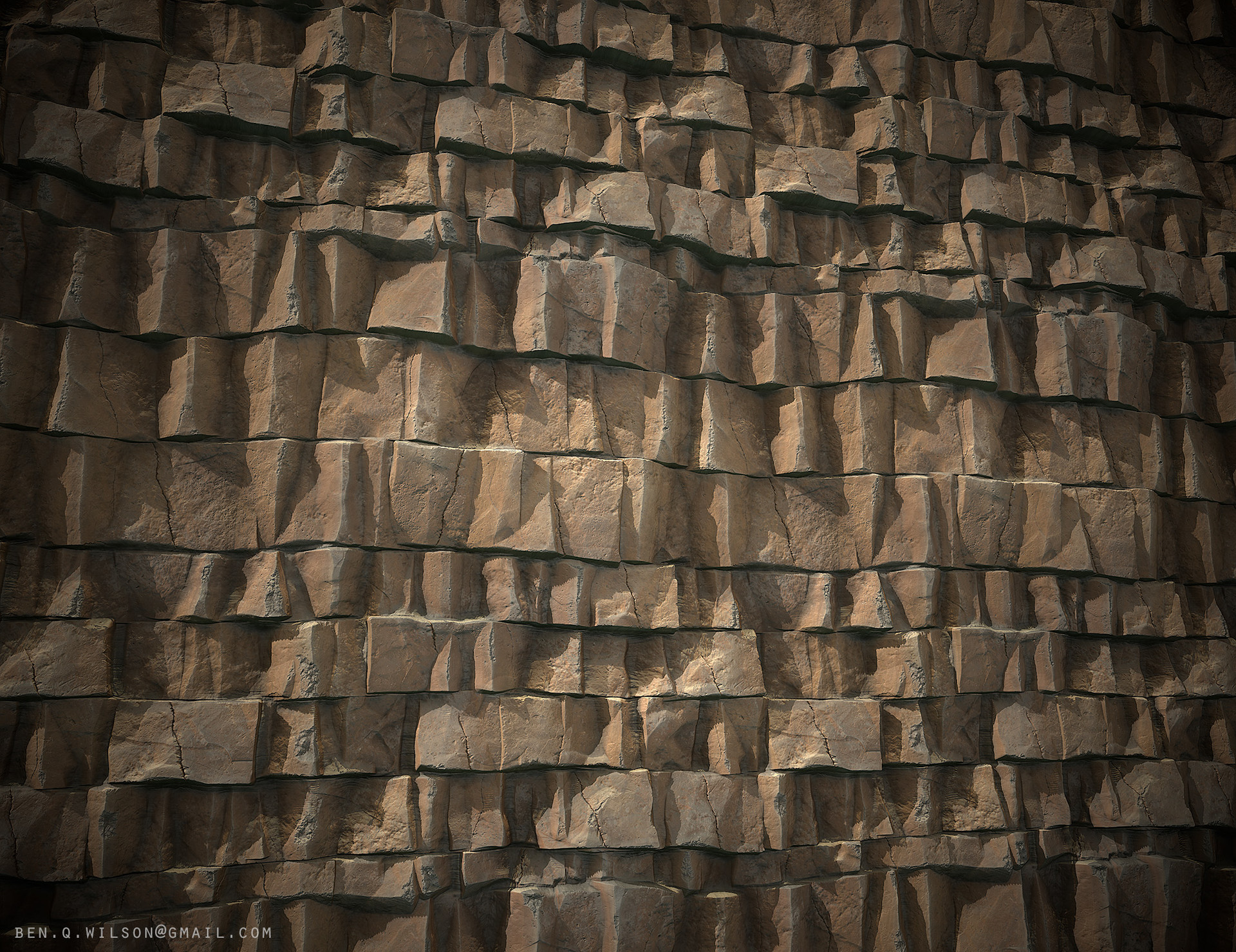 Ben wilson rock cliff a render 01