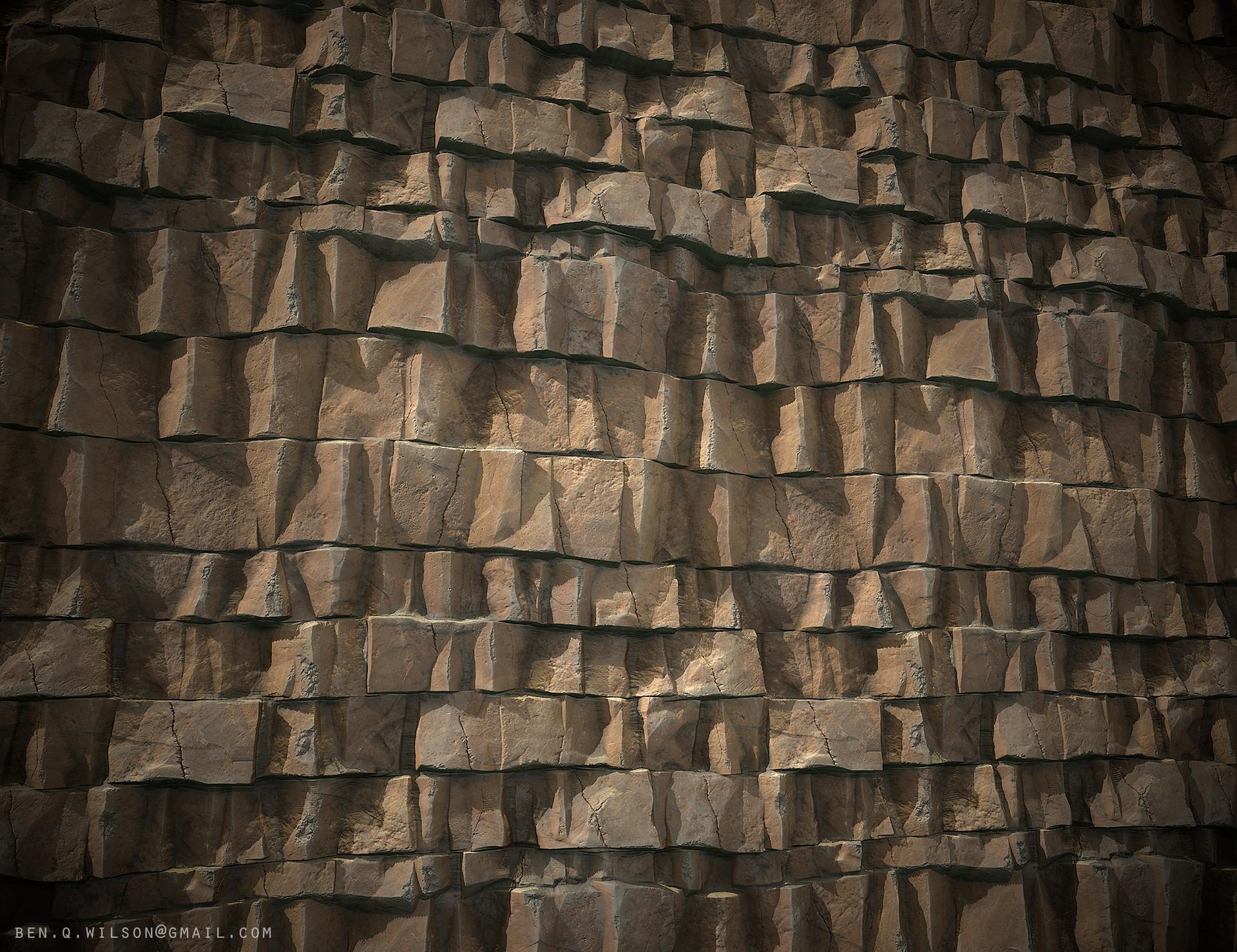 Ben wilson rock cliff a render 01