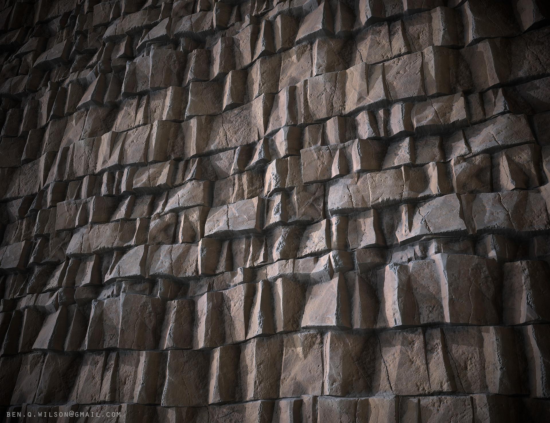 Ben wilson rock cliff a render 02