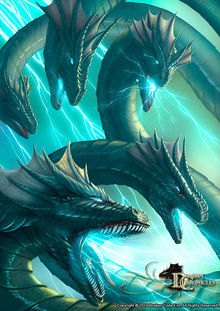 Lightning Hydra - Dragon Chronicles
