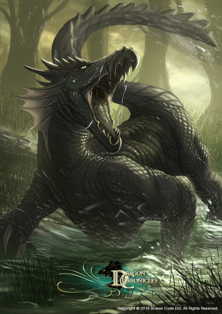 Swamp Serpent - Dragon Chronicles