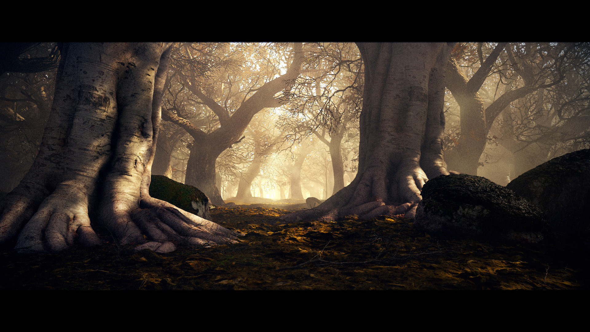Scroll to see more & ArtStation - Fantasy Forest - lighting study in cryengine Joe Garth azcodes.com