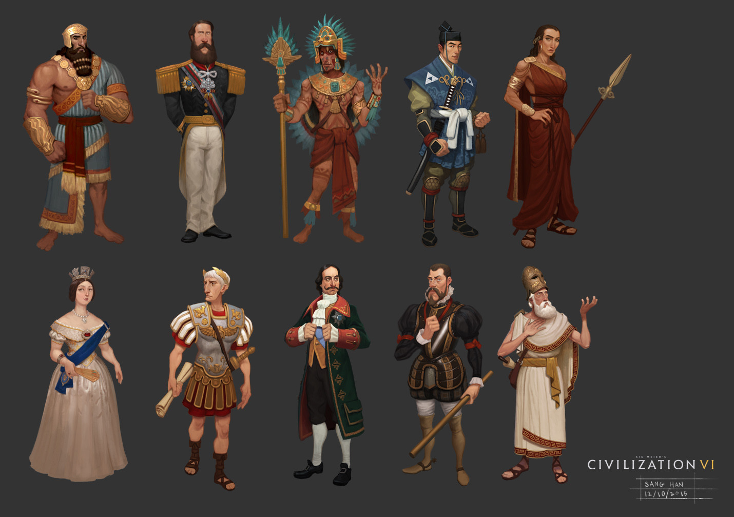 Civ 6 Leader Groupshop