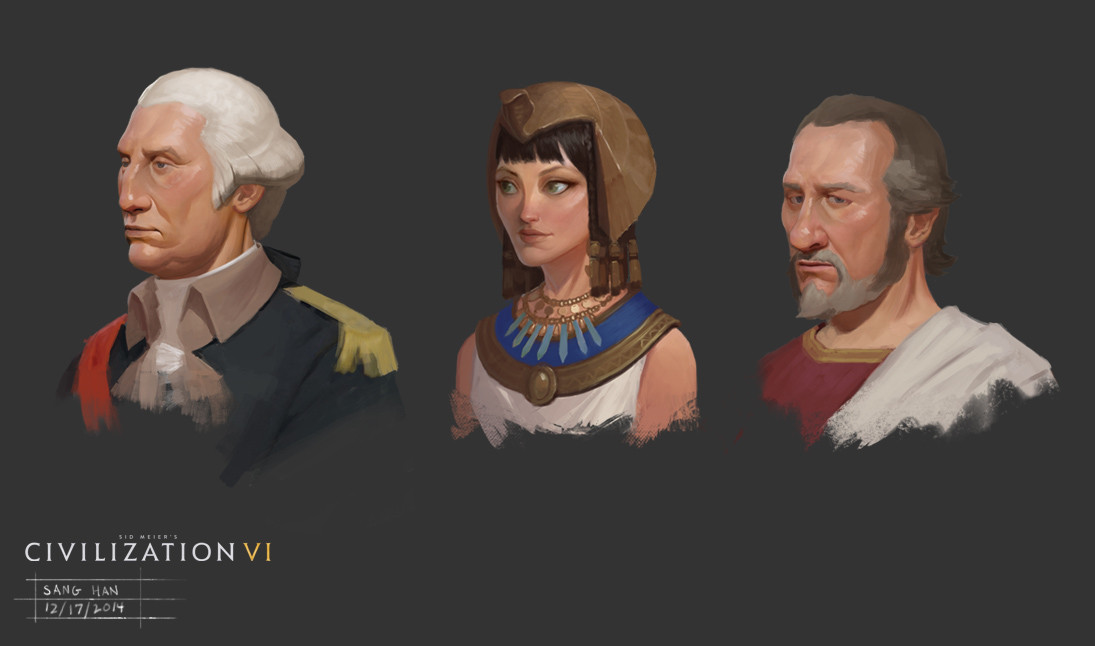 Civ 6 Early Leader and Adviser