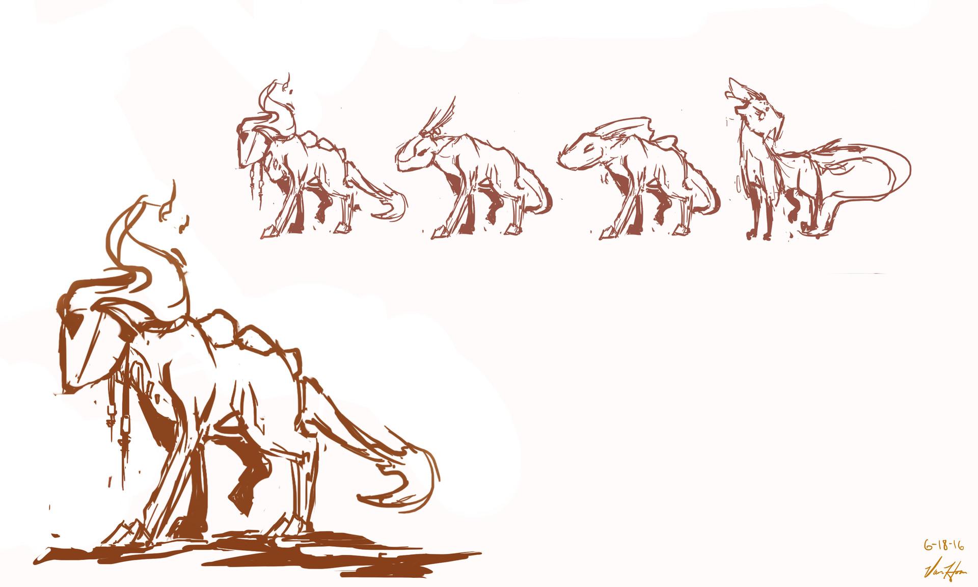 Rygar - Creatures