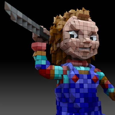 Rob mcdaniel 3dvox chucky close 1k