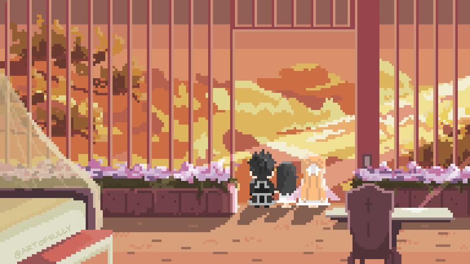 'Gilded Hero' - Sword Art Online Pixel Art