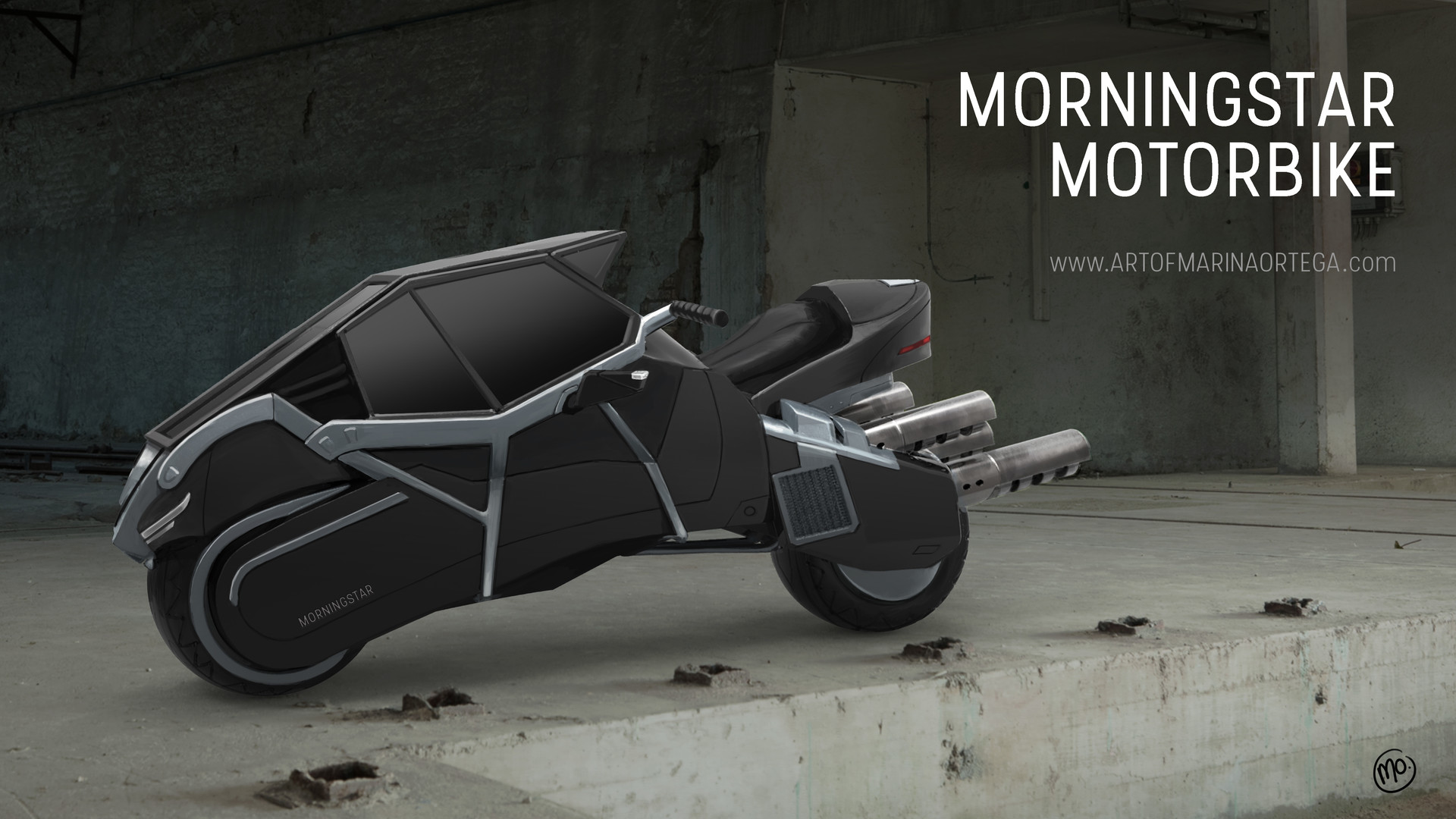 Morningstar Motorbike
