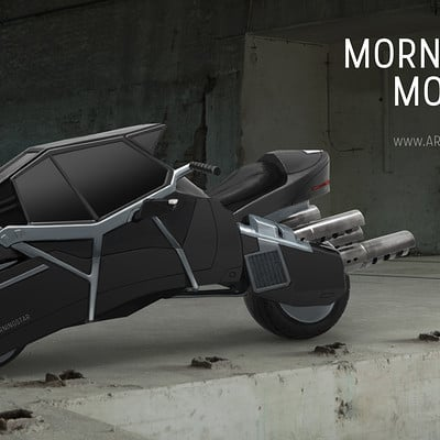 Marina ortega morningstar motorbike