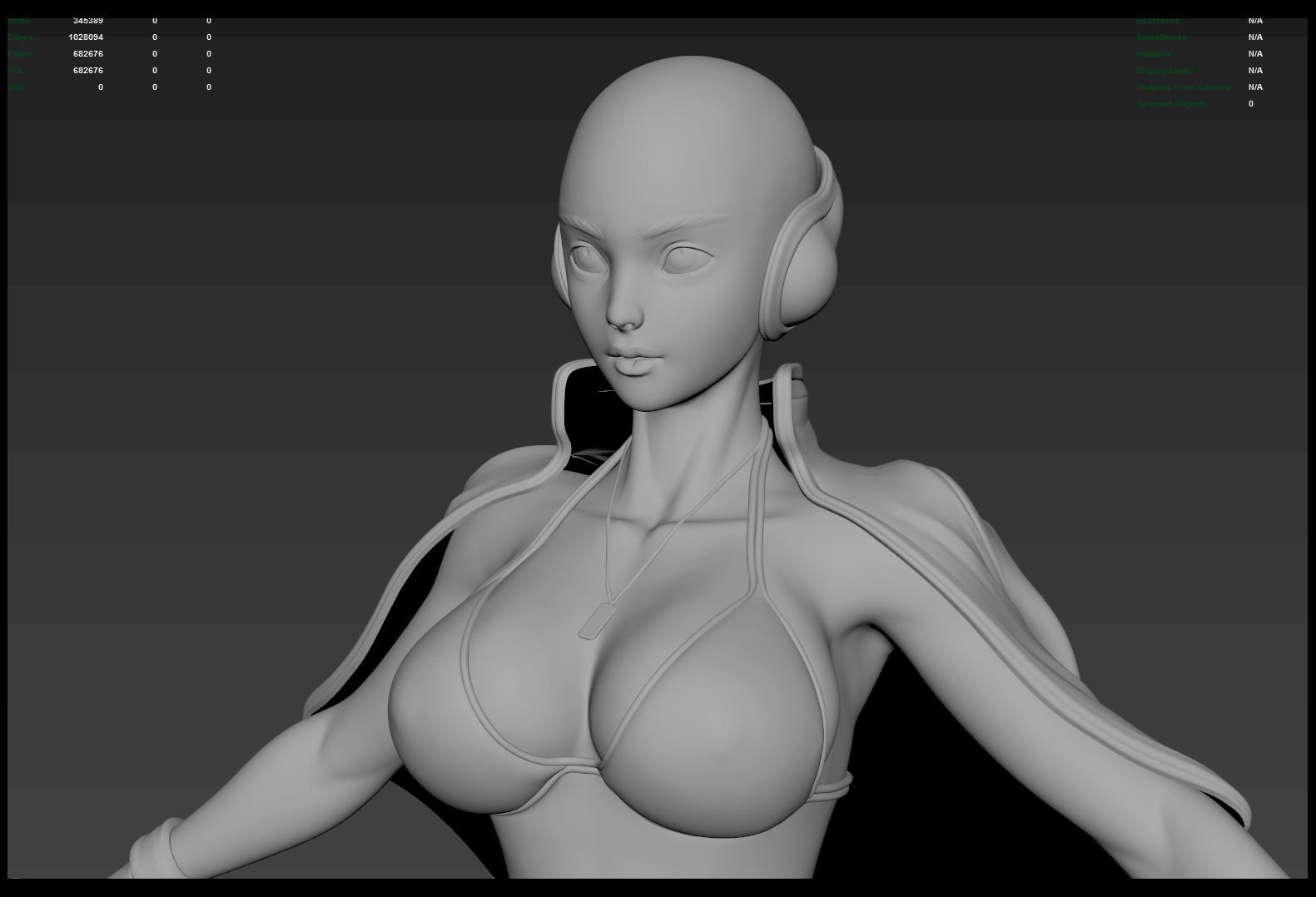 Dzung phung dinh girlsculpt refinewip