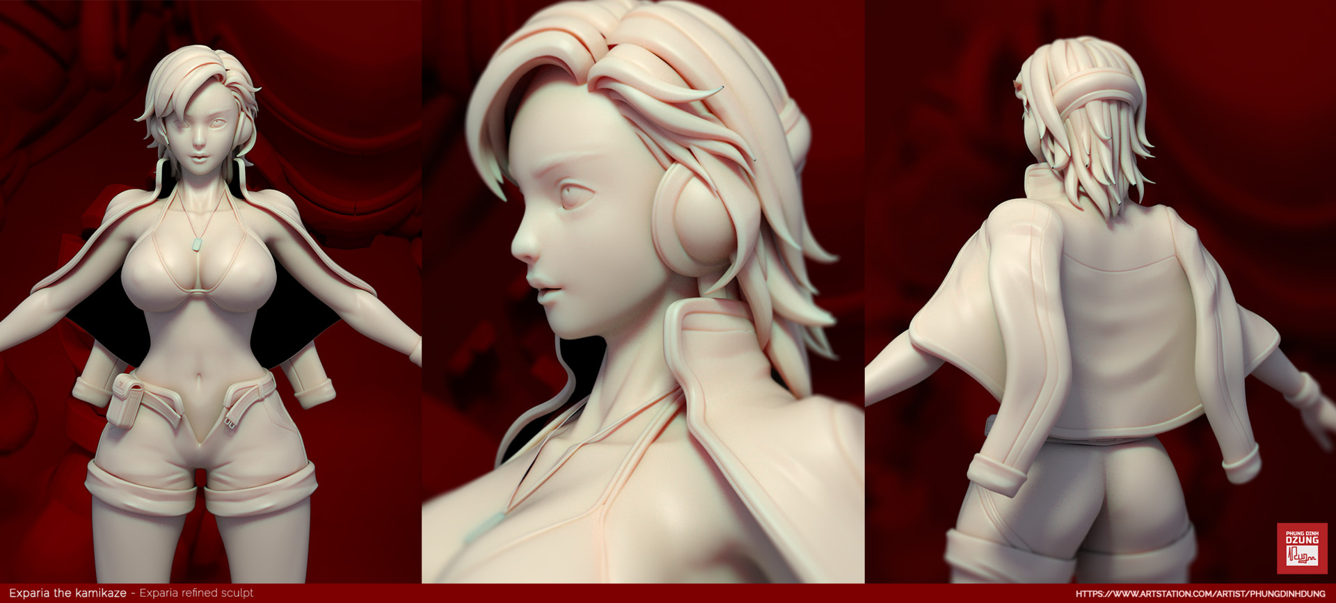 Dzung phung dinh girlsculpt refinerender 0001