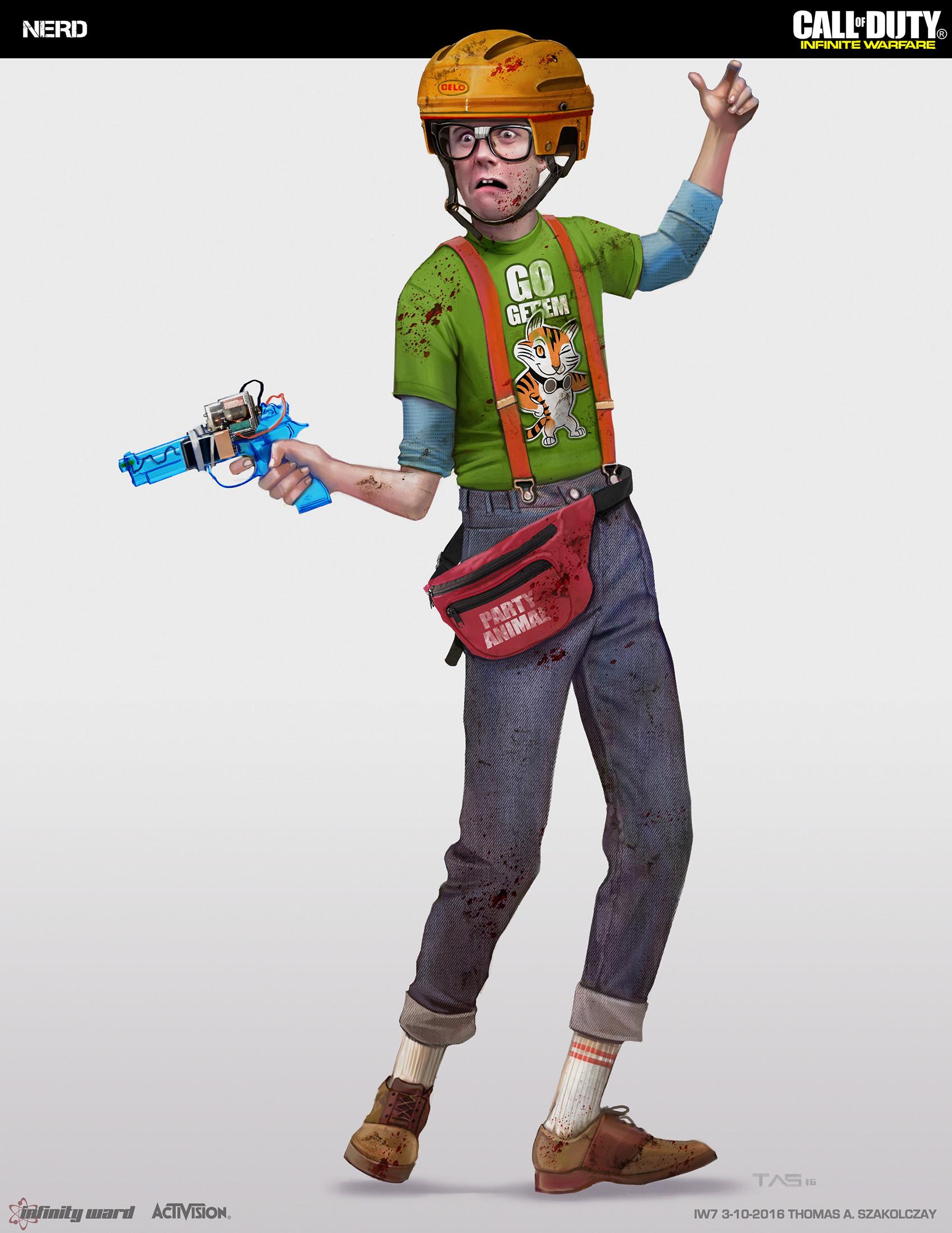 Thomas a szakolczay zom maincast nerd