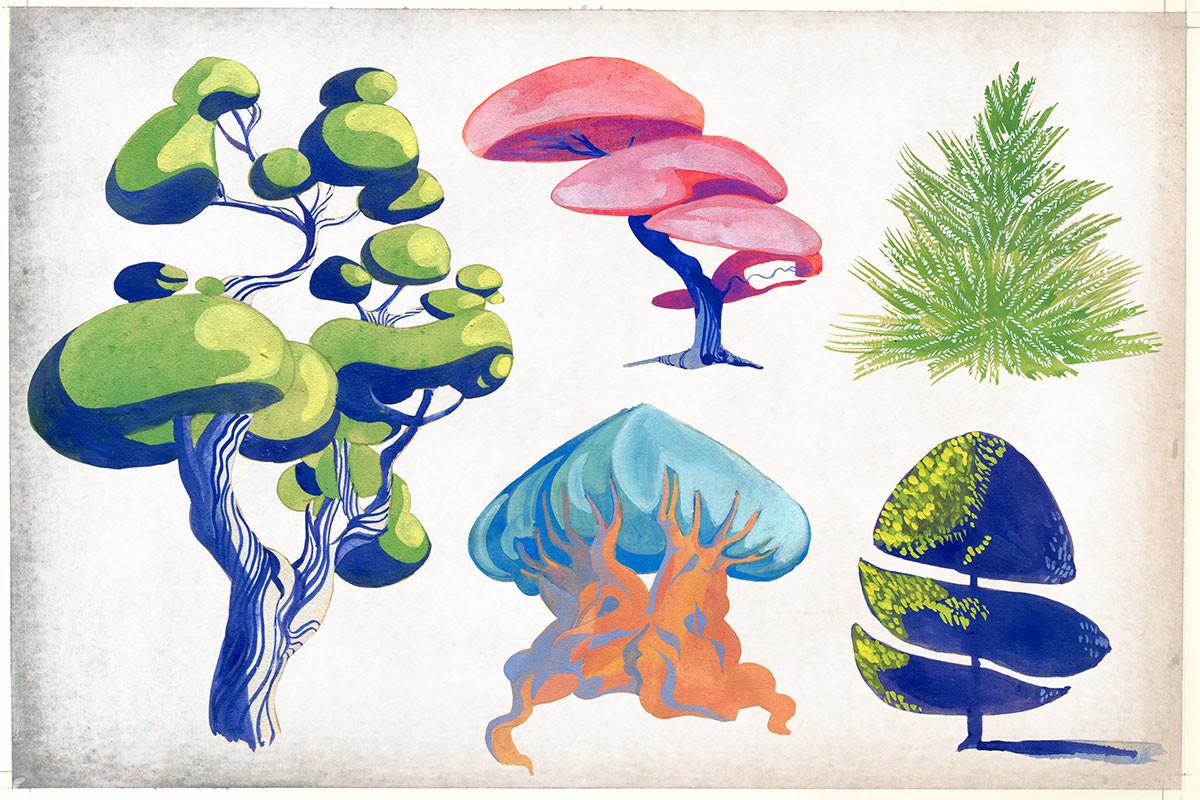 Elisa moriconi trees 01