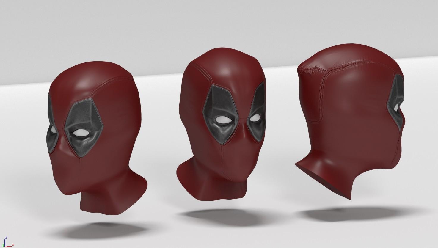 Deadpool Mask Pattern 24752 Loadtve