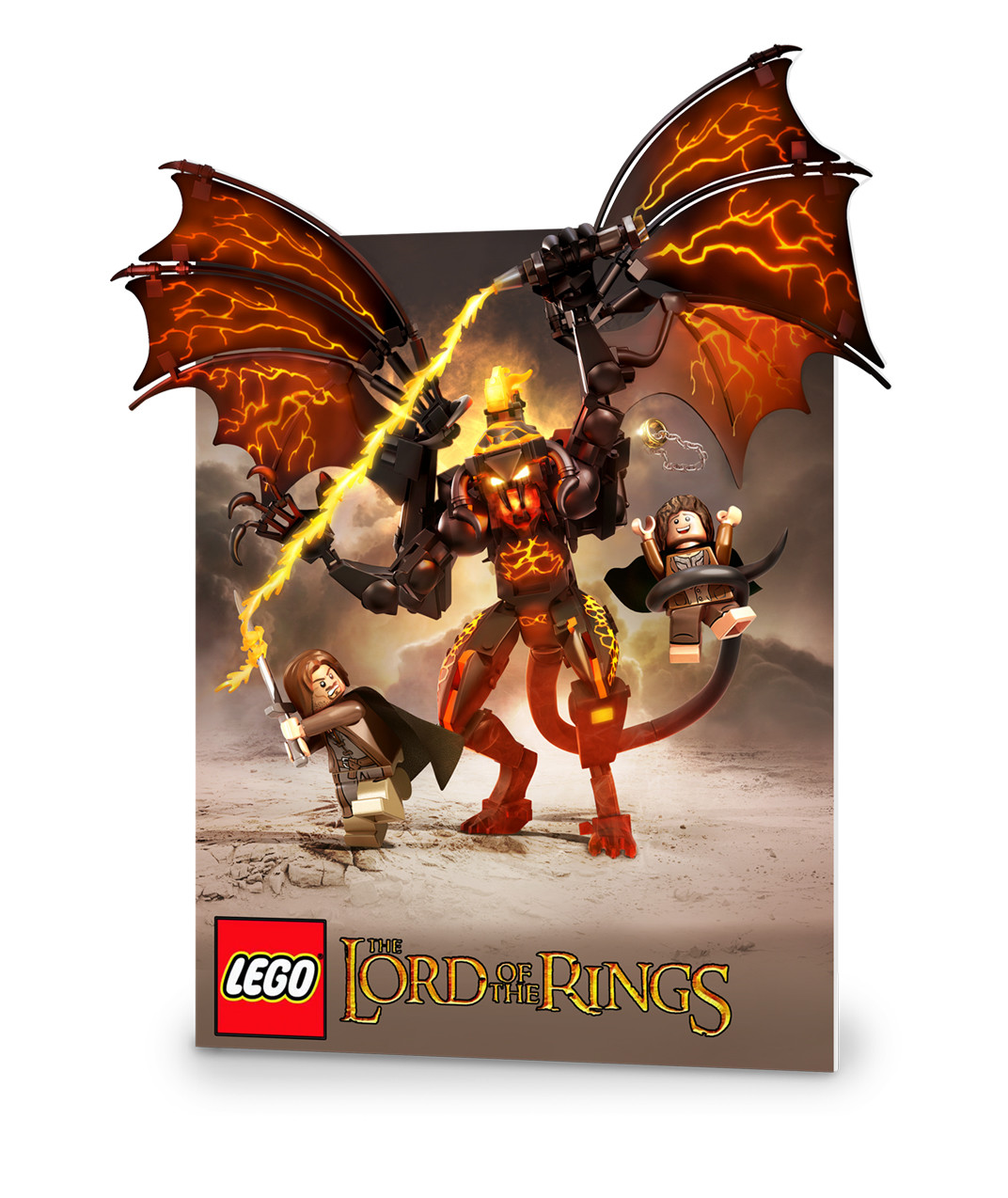Lego LOTR Standee
