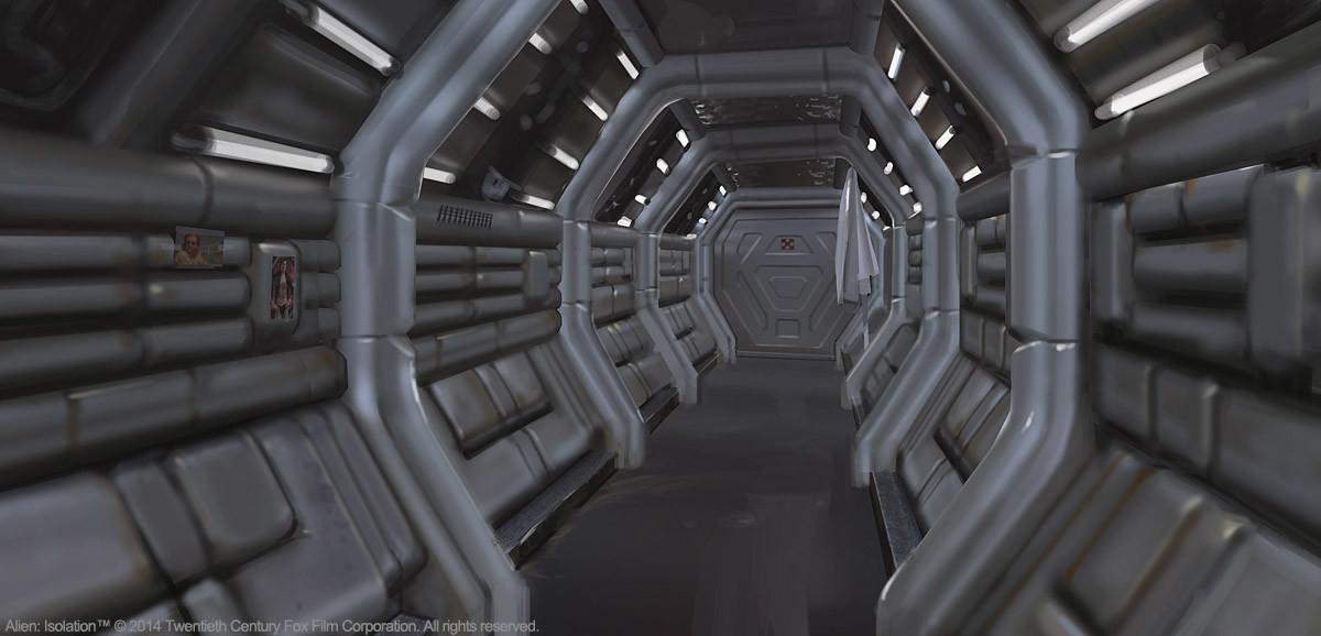 Edouard caplain corridor01