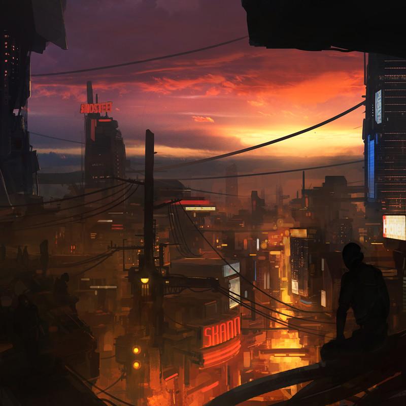 Abandoned Robots 01 - City