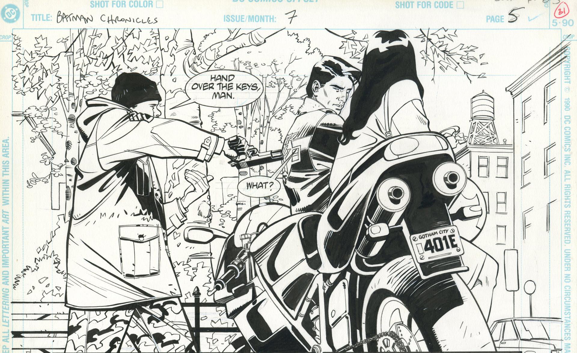 Rodolfo damaggio nightwing page3100