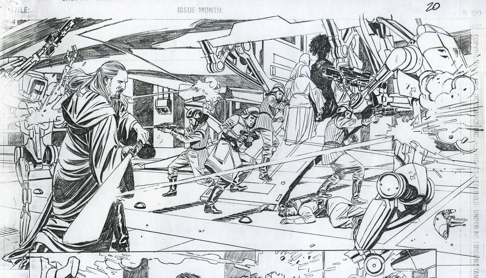 Rodolfo damaggio starwars comic100