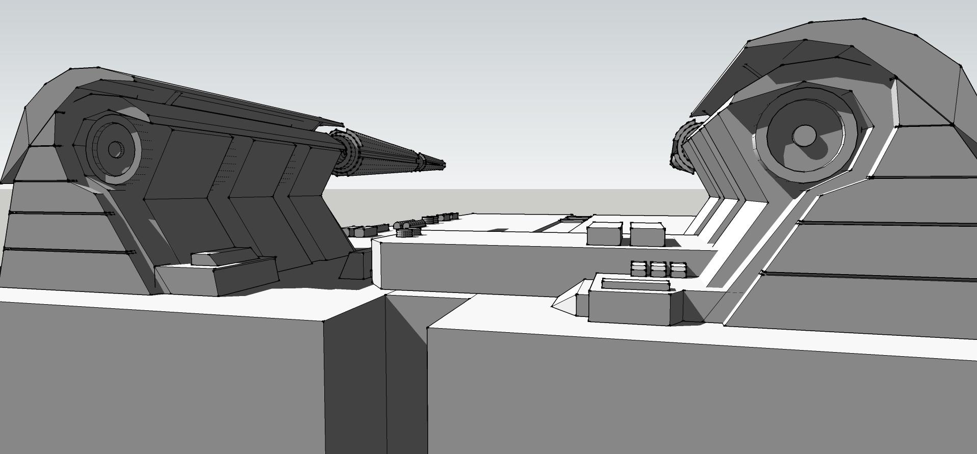 Sketchup Model of Ship
