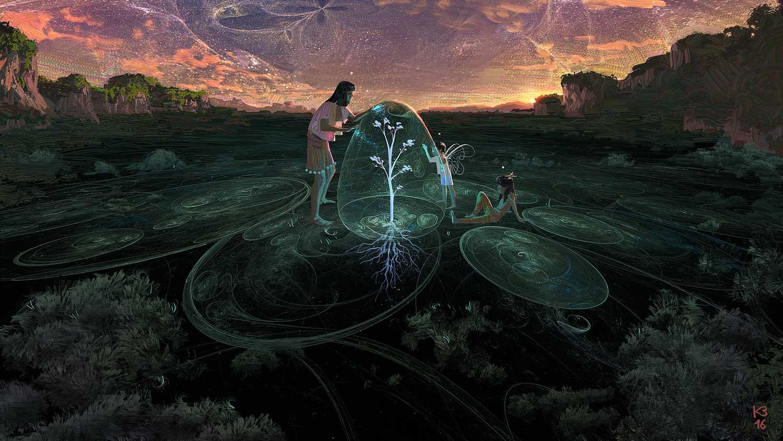 Cosmic Reforestation