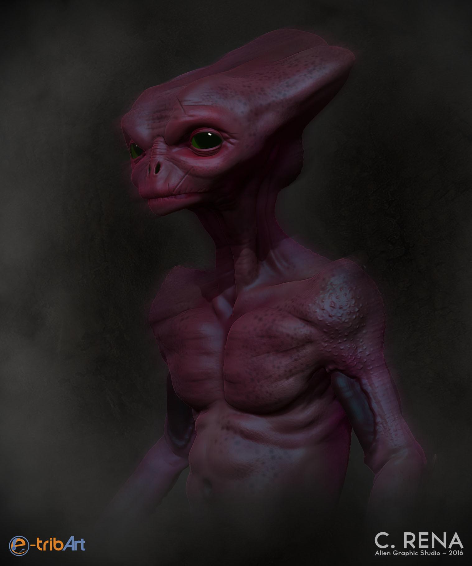 Chris rena weird alien final
