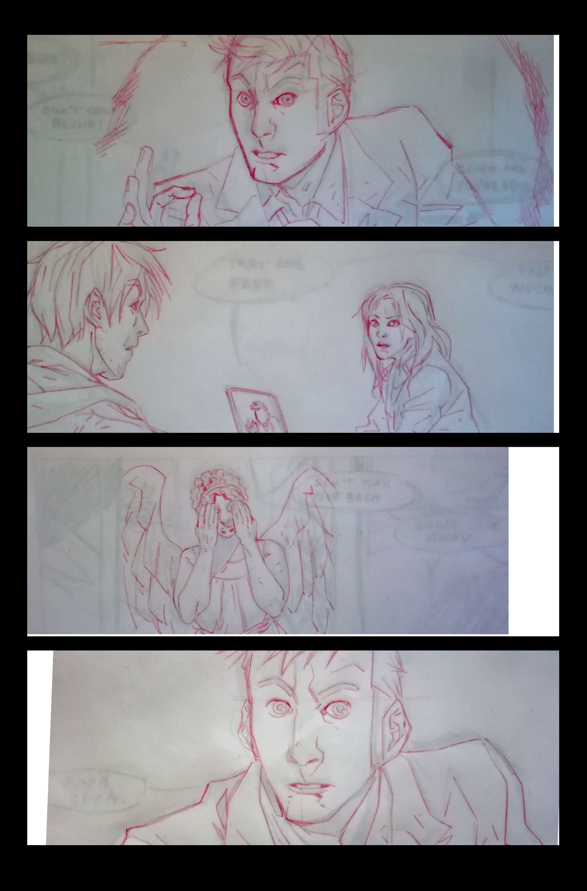 Claudia cocci doctor who page 01 wip0
