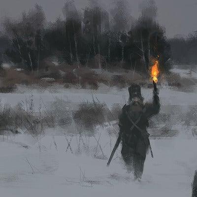 Jakub rozalski wolfpack hunt01 14112016