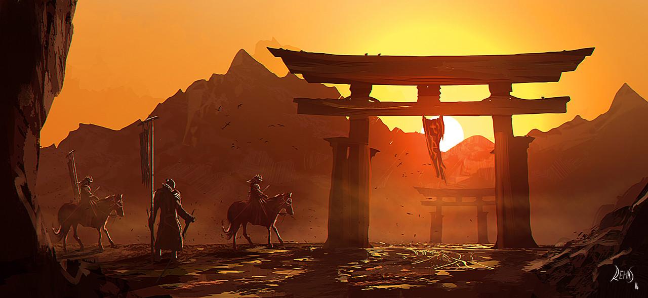 Reha sakar mounted samurai 02 720