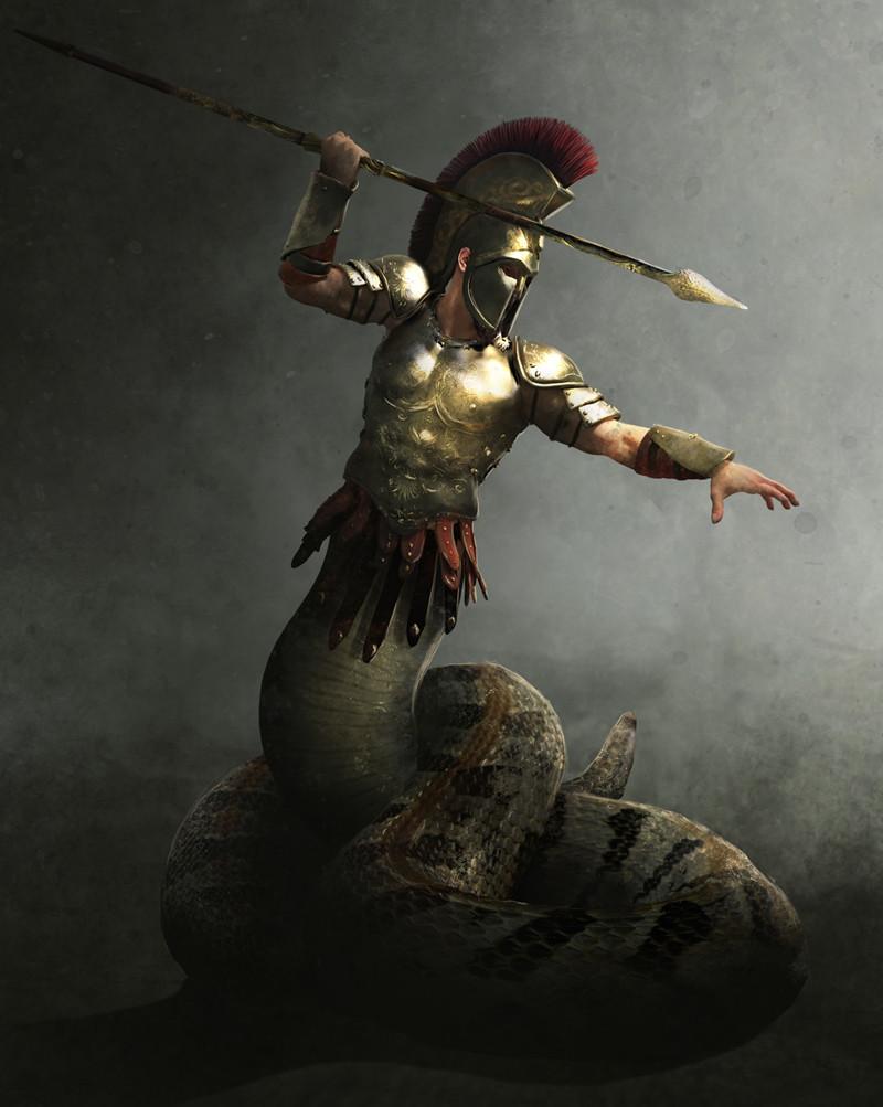 Guillem h pongiluppi mythic battles cecrops guillemhp