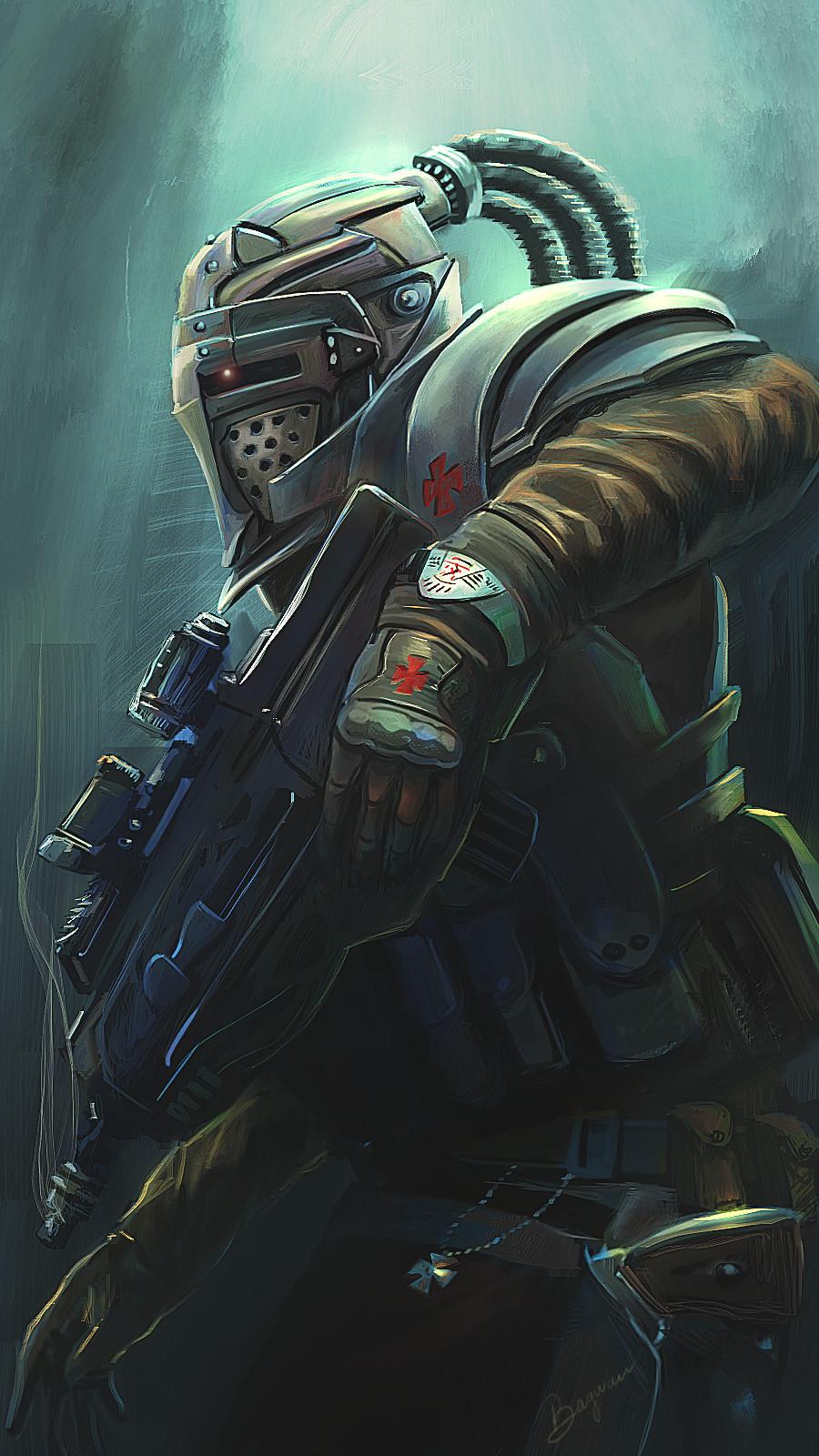 Templar soldier
