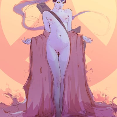 Anato finnstark naked widowmaker speedraw45min by anatofinnstark daolxa5