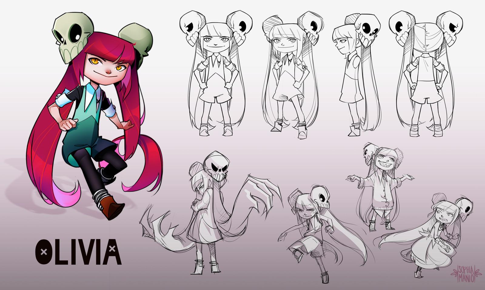 Character Sheet: Olivia