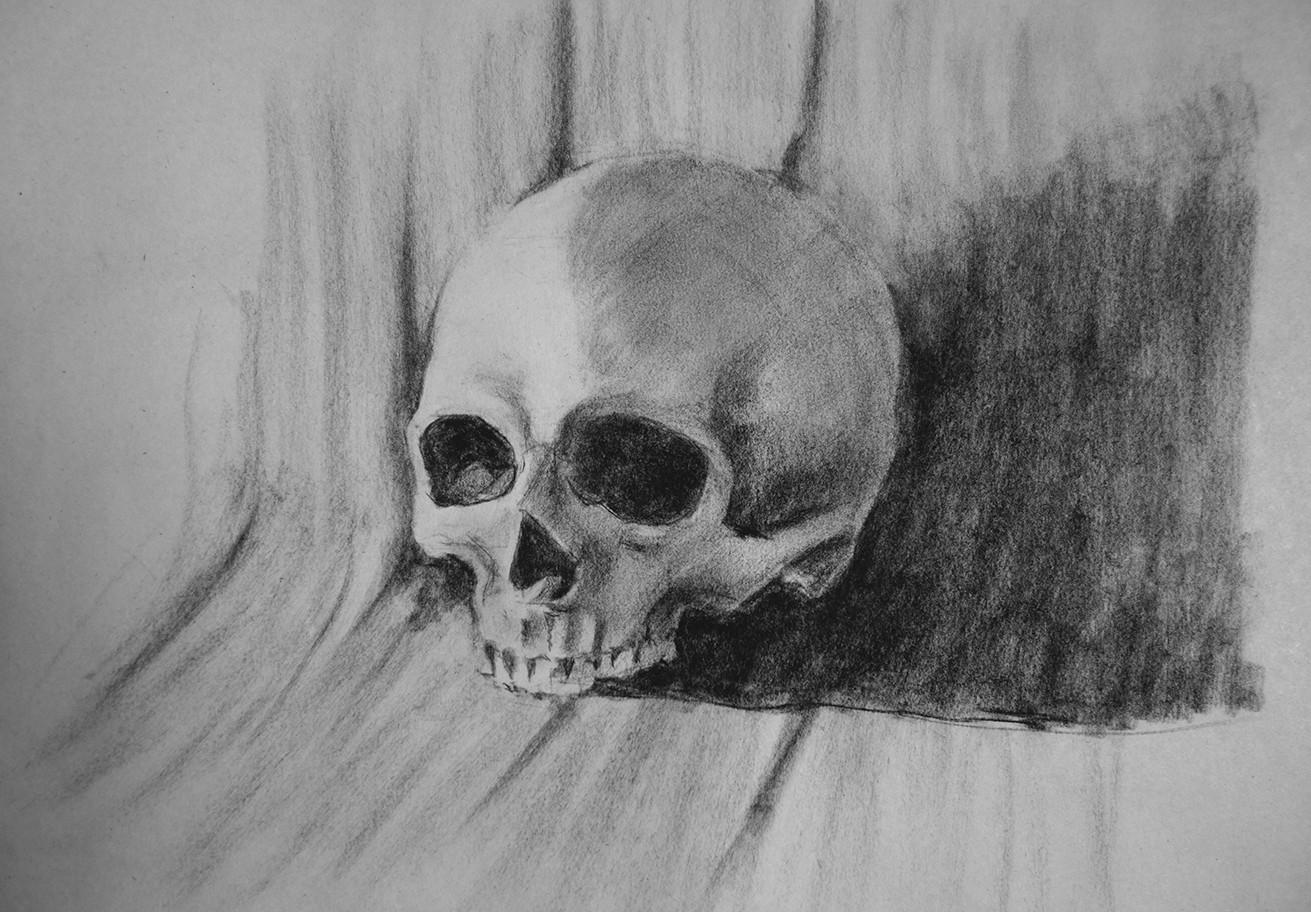 Iain gillespie skull 01