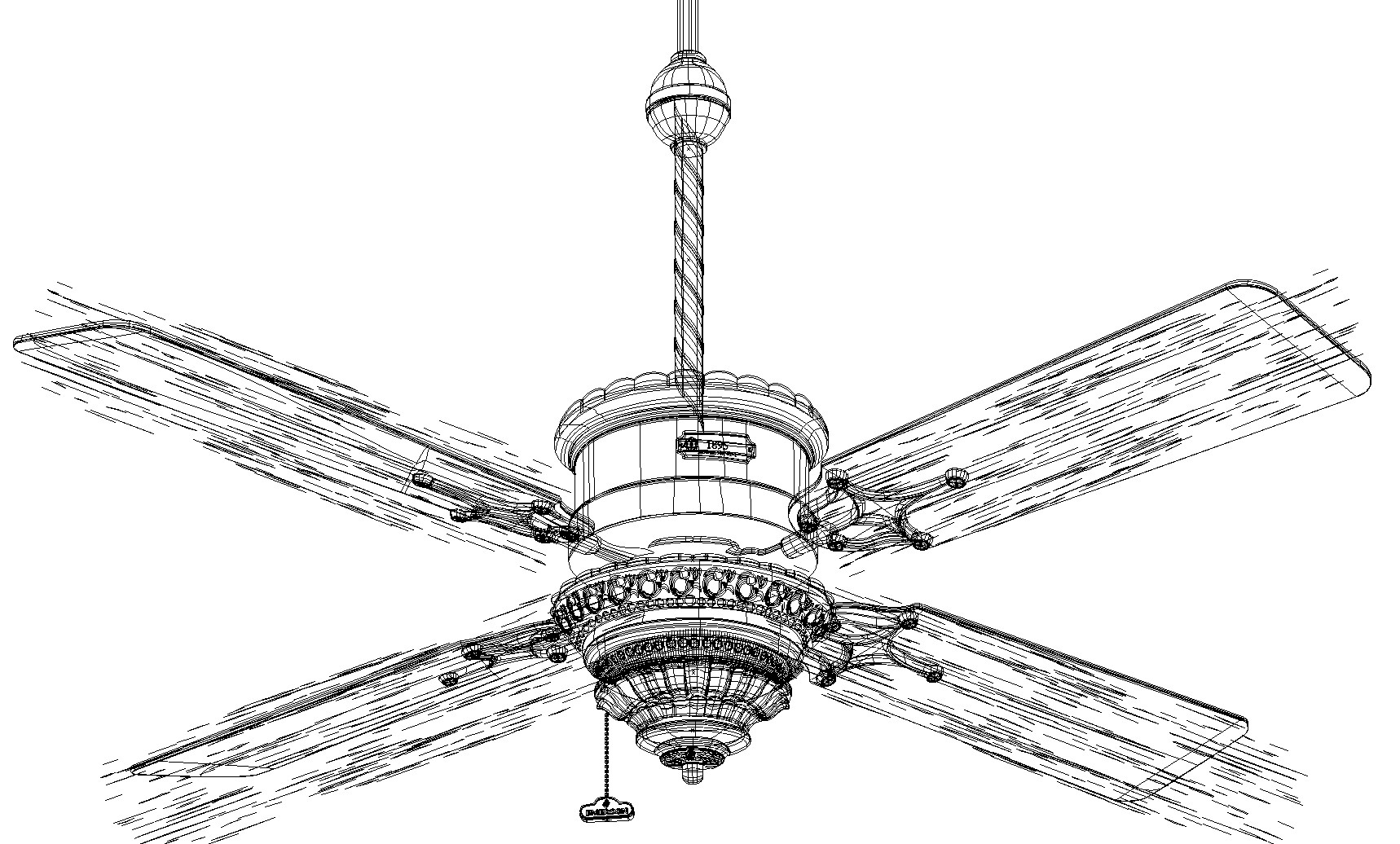 Rajesh sawant ceiling fan wireframe