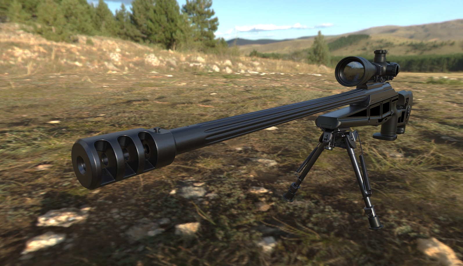 David stingl r93 sniper rifle