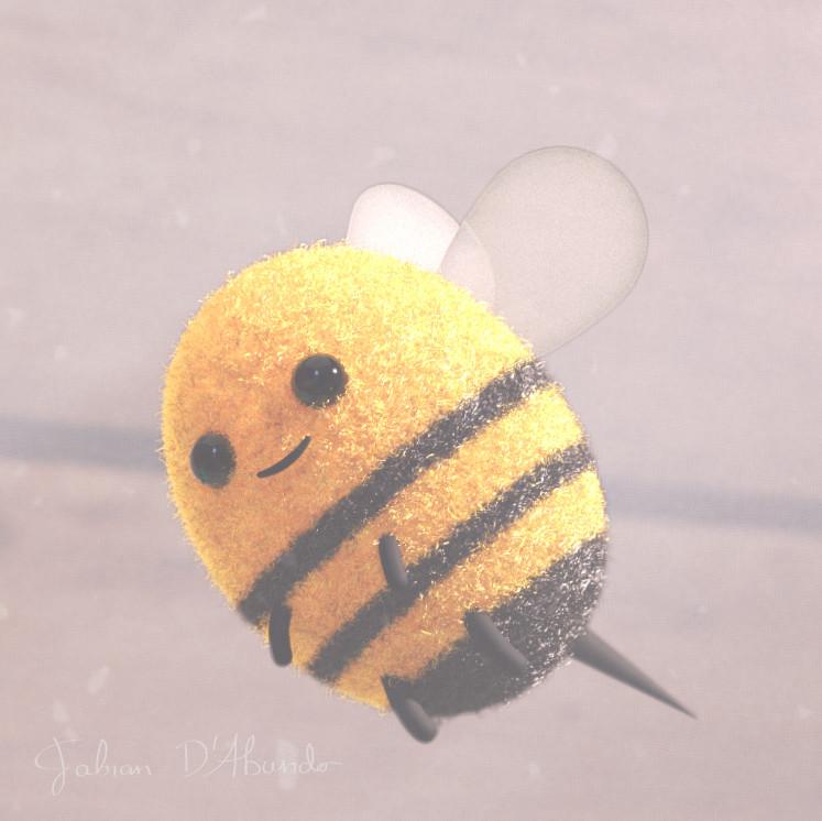 Closeup Bumblebee