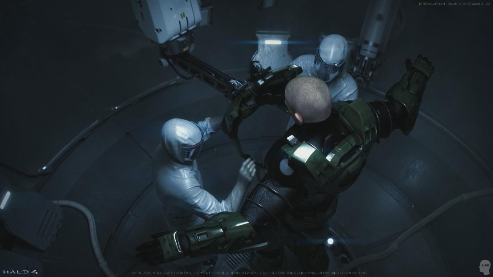 Halo 4: Look Development / Lighting / Rendering / Compositing