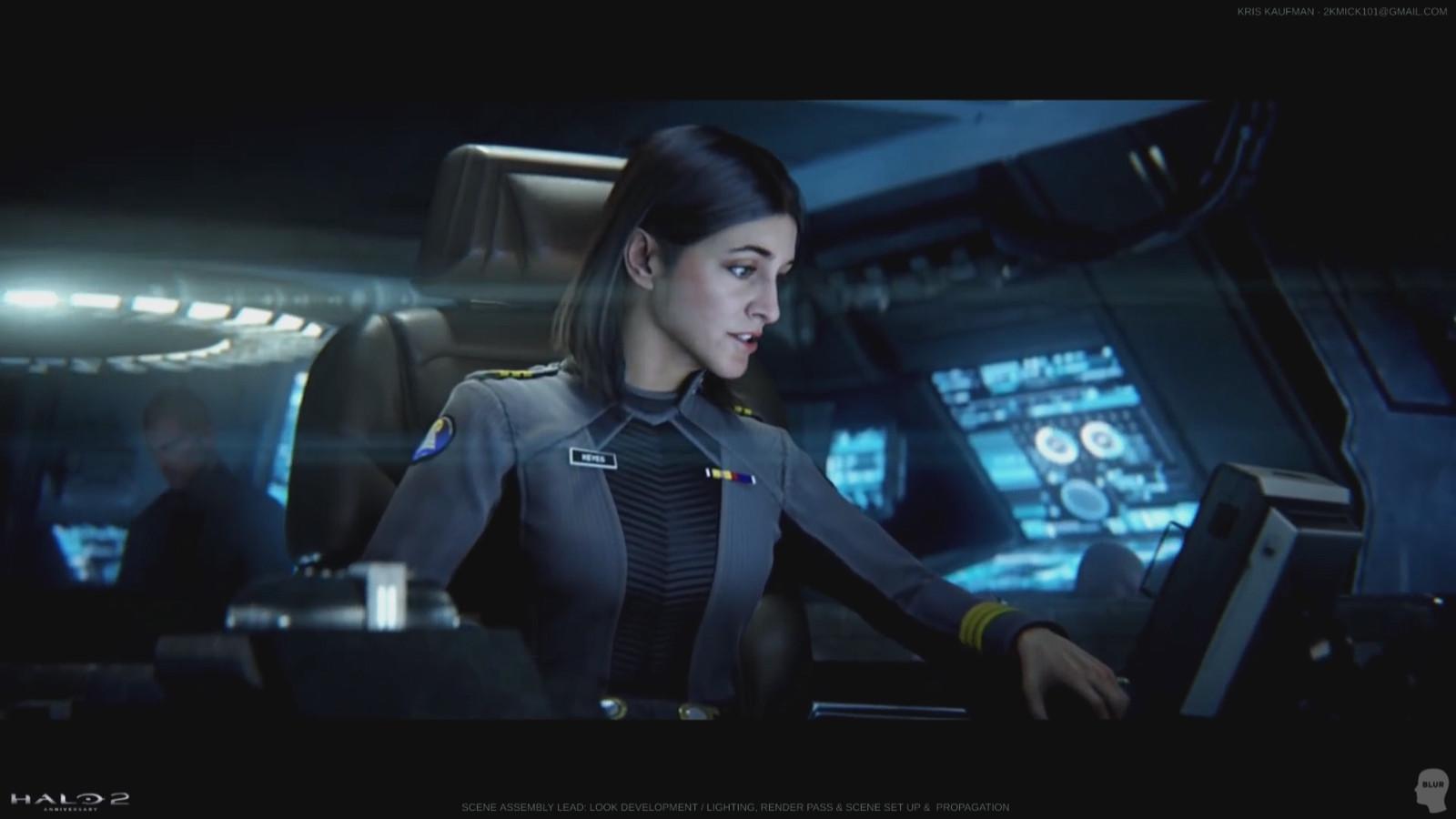 Halo 2 / Anniversary: Look Development / Lighting