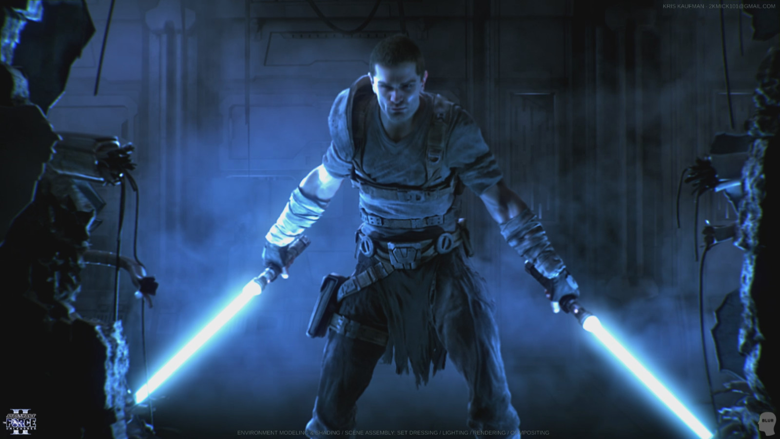 The Force Unleashed 2: Look Development / Environment Modeling & Shading / Lighting / Rendering / Compositing