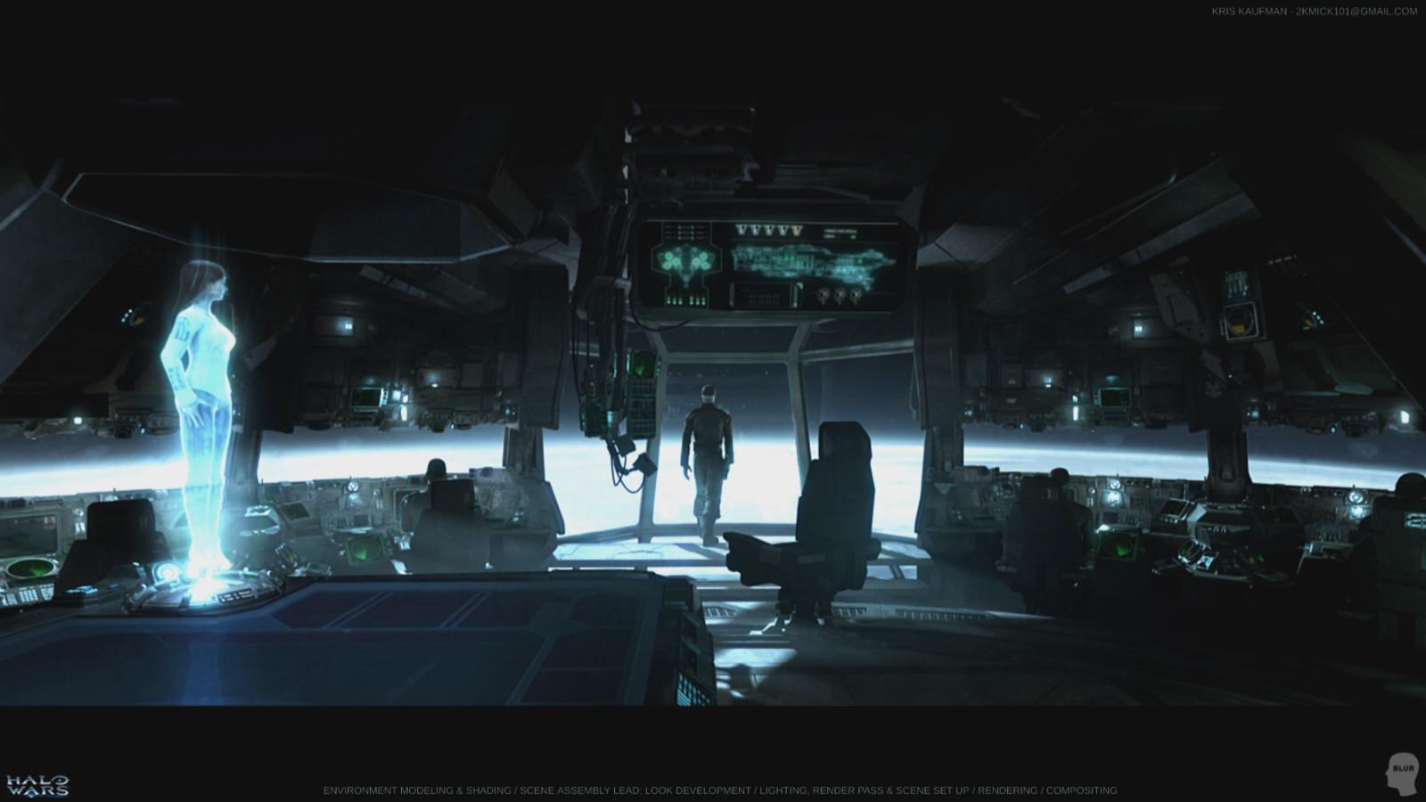 Halo Wars: Look Development / Environment Modeling & Shading / Lighting / Rendering / Compositing