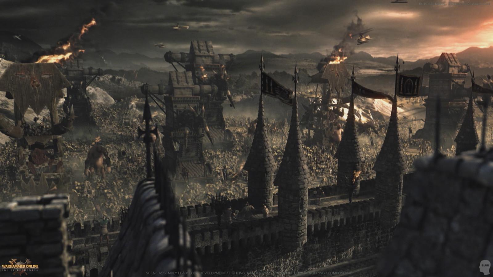 Warhammer Online: Look Development / Scene Set Up / Lighting / Rendering / Compositing