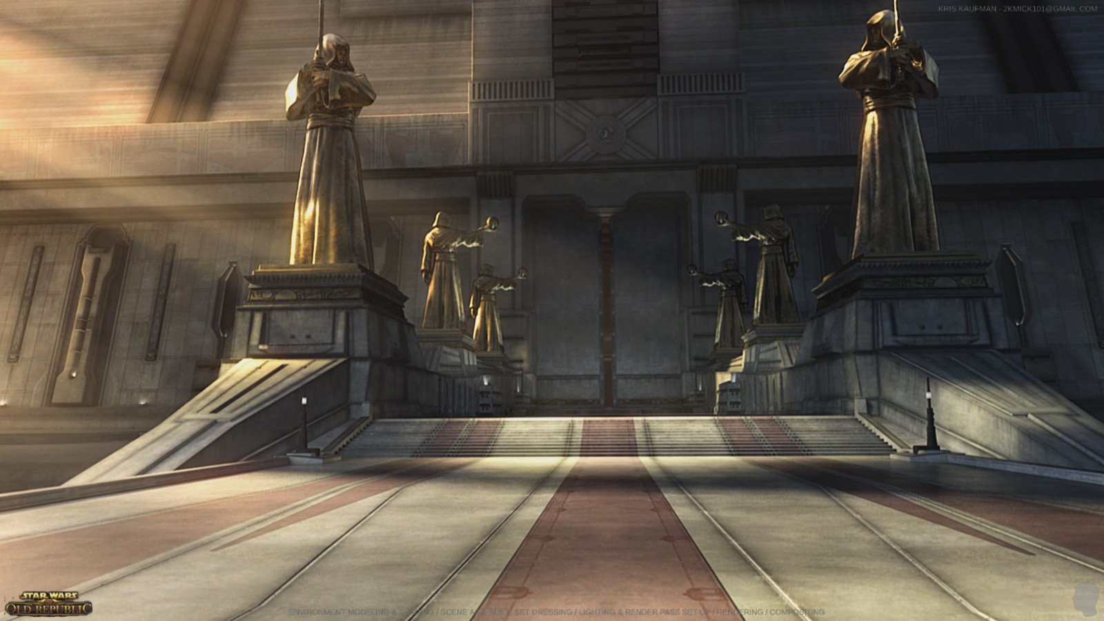 Star Wars: The Old Republic: Environment Modeling & Shading / Lighting / Rendering / Compositing