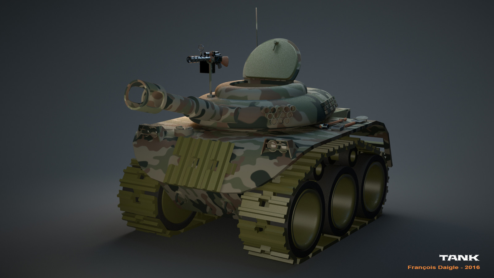 Stylised Tank