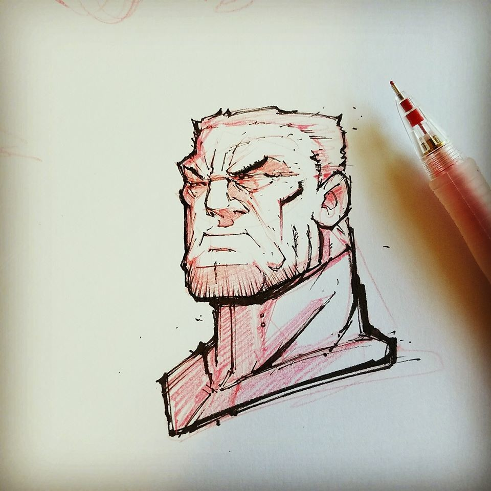 Early warmup - Old Man Bruce