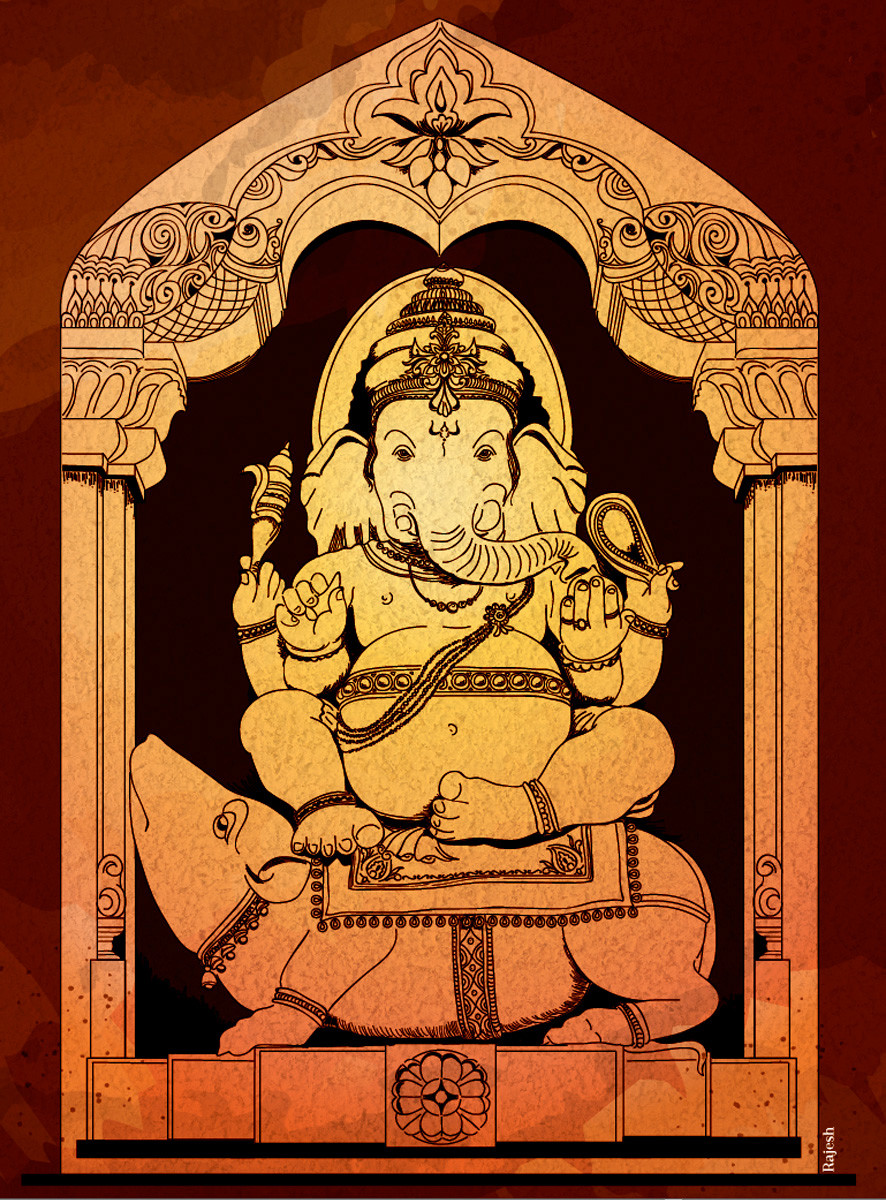 Rajesh sawant lordganesh